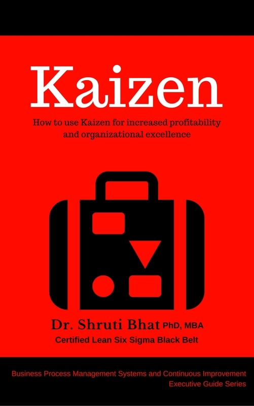 kaizen by shruti bhat, kaizen coach, continuous improvement consultant, lean six sigma black belt
